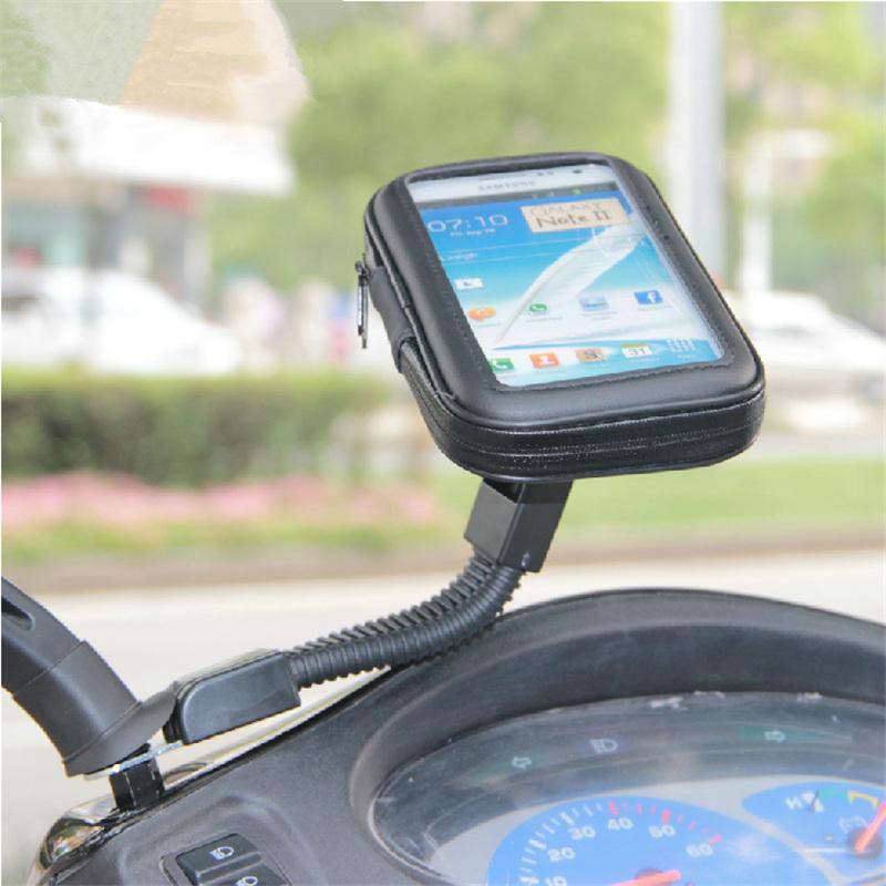 Βάση μηχανής/scooter Large 155x85mm για 5.5 inch Smartphones (OEM 8772)