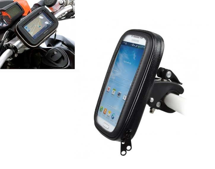 Βάση μηχανής/ποδηλάτου Forever BH-100L Large (155x85mm) για 5.5 inch Smartphones