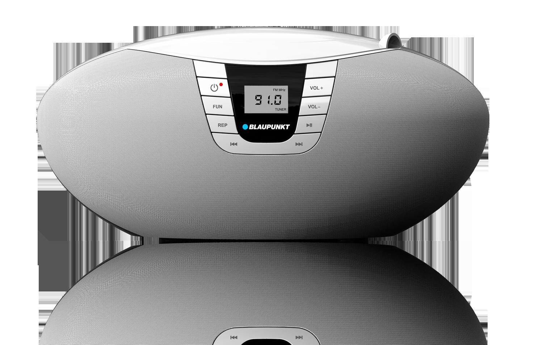 BLAUPUNKT BB11WH portable Boombox CD/MP3/USB/AUX