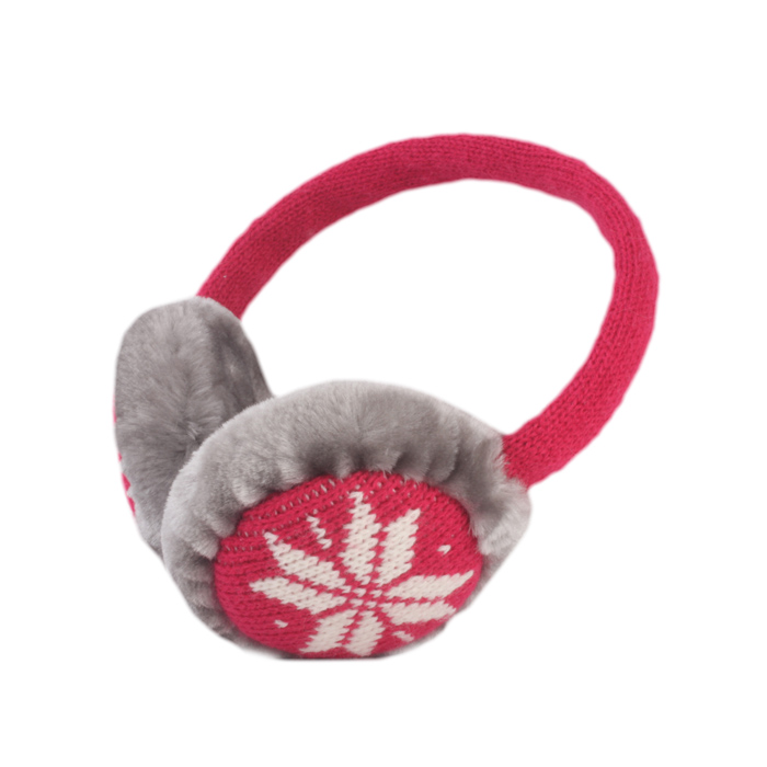 Forever Winter Earmuffs Headphones for Mp3/Tablets/Smartphones – Pink