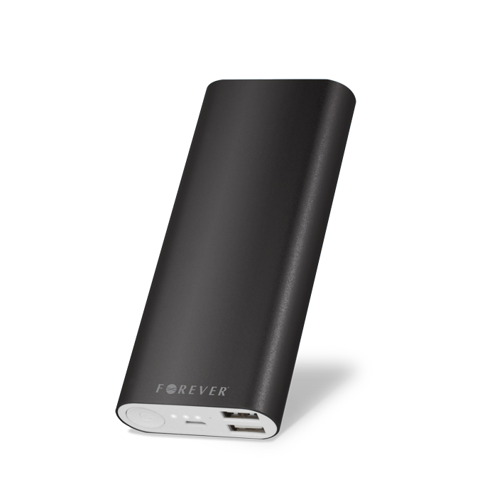 Forever TB-013 Aluminum Power Bank/Φορτιστής 13000mah for smartphones/Tablets - Black