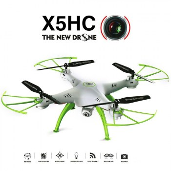 syma-x5hc-rc-drone-with-2mp-hd-camera-3d-roll-altitude-hold-headless-mode-2.4g-4ch-6axis-rc-quadcopter-rtf-white--691-p