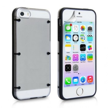 yousave-iphone-5-5s-6-dot-design-gel-and-hard-hybrid-case---black-clear-600x6002