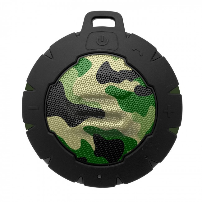 Soul Storm camo Floatable waterproof IP67 Bluetooth Speaker 5w Green Stealth
