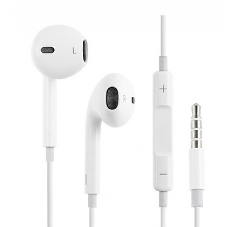 Original Stereo Headset Apple MNHF2ZM/A iPhone A1472 blister
