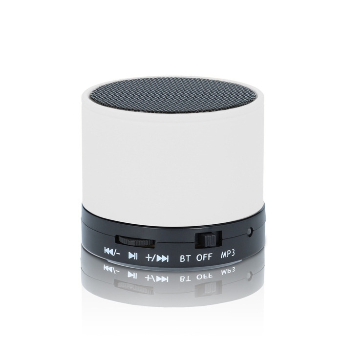 Mini Speaker with Radio/Mp3/Aux/Bluetooth Forever BS-100 - White