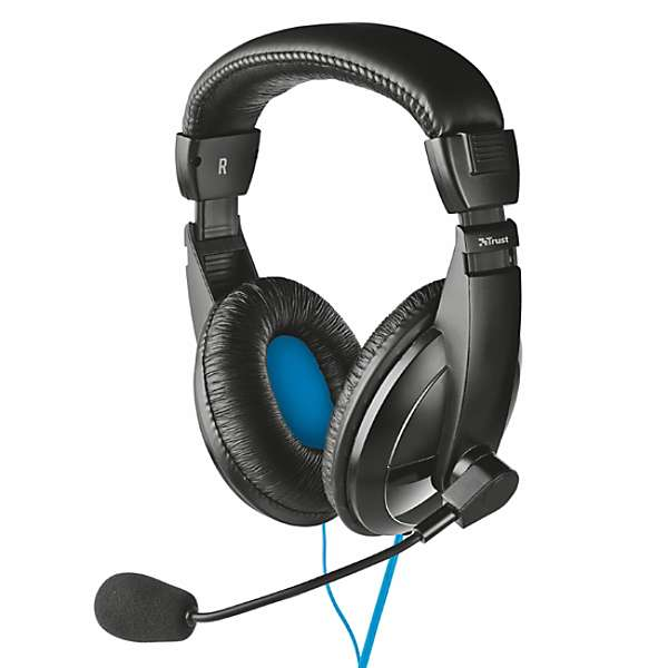 Gaming Headset Trust Quasar with microphone for PC